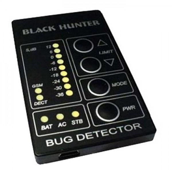 Баг Хантер «Black» - уникальный прибор для активного поиска скрытых приборов