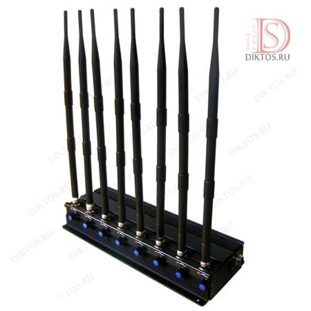 Универсальный мощный блокиратор 4G,GPS,Wi-Fi,GSM,LTE