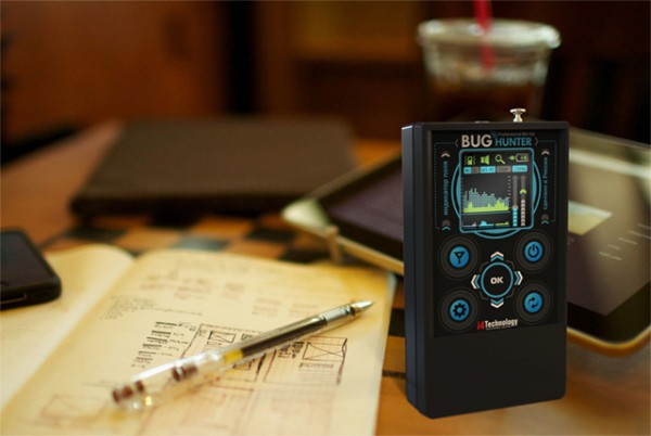 """В высоту детектор жучков """"BugHunter Professional BH-03"""" меньше шариковой ручки"""
